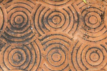 outdoor red concrete  floor texture
