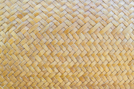 closeup of wicker texture background