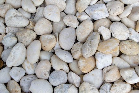 natural white pebbles background texture