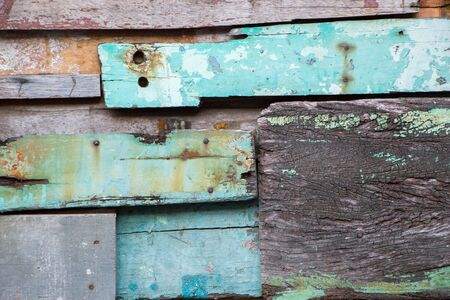 pieces of old rustic wood background texture
