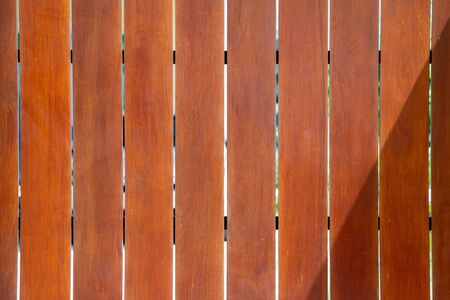 brouwn natural wood fence outdoor home 写真素材