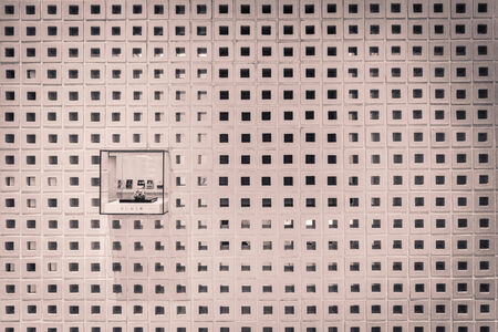 grid: square hole grid