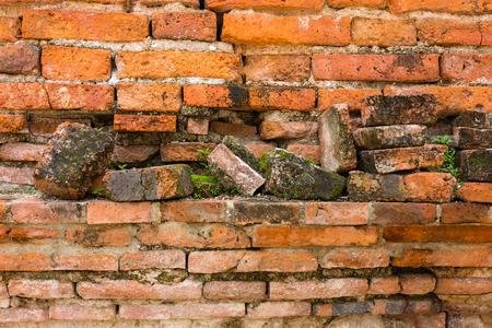 Old Brick Wall Texture Standard-Bild