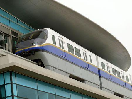 means of transport: Dubai Metro