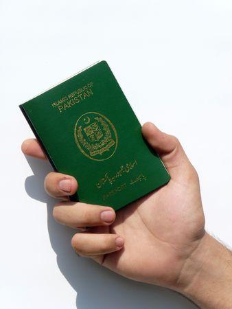 Passport of Pakistan Stock Photo - 5786070