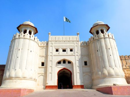 fortress: The Lahore Fort  Stock Photo