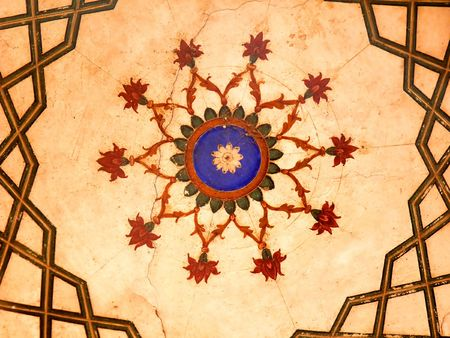 15th century: Ancient Mughal Art Design from the 15th Century