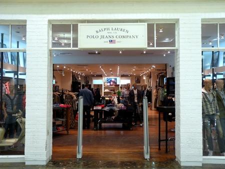 Dubai - 3 MARCH 2011: Ralph Lauren retail store in Deira City Center, Dubai on 03.03.2011.