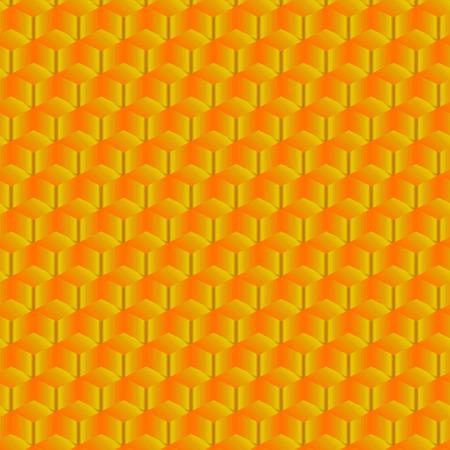 Diseño geométrico dorado degradado con patrón repetido