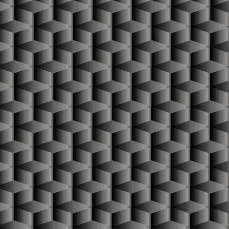 Diseño geométrico negro degradado con patrón repetido
