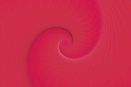 Fractal illustration for meditation and decoration wallpaper. Spiral background design for textile, wallpaper and interior decorations. Infinite geometry fractal background of spiral jigsaw puzzle. Banco de Imagens - 128749763
