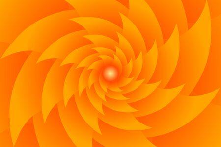 Fractal illustration for meditation and decoration wallpaper. Spiral background design for textile, wallpaper and interior decorations. Infinite geometry fractal background of spiral jigsaw puzzle. Banco de Imagens - 128810568