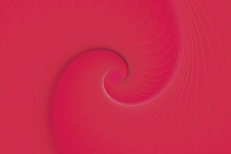 Fractal illustration for meditation and decoration wallpaper. Spiral background design for textile, wallpaper and interior decorations. Infinite geometry fractal background of spiral jigsaw puzzle. Banco de Imagens - 128952462