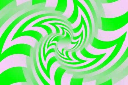 Fractal illustration for meditation and decoration wallpaper. Spiral background design for textile, wallpaper and interior decorations. Infinite geometry fractal background of spiral jigsaw puzzle. Banco de Imagens - 129206968