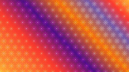 Gradient color abstract light background with glittery colored shiny bokeh stars. Sparkling glittered particles on colored background for placard, banner and greeting cards.
