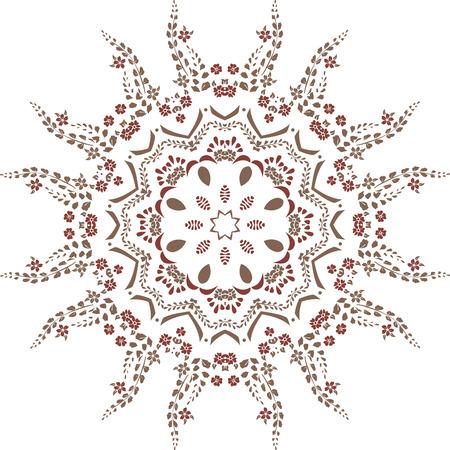 Mandala ethnic indian illustration design 向量圖像