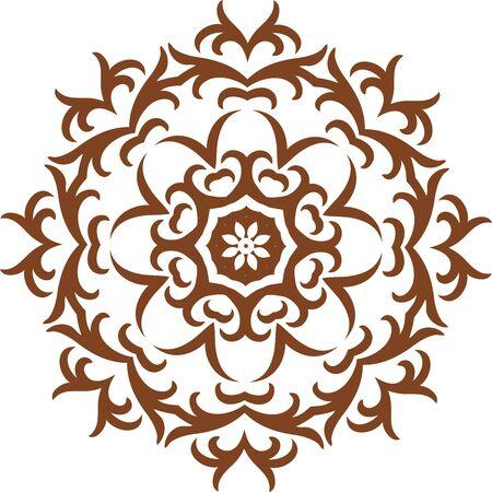 Mandala ethnic indian illustration design Illustration