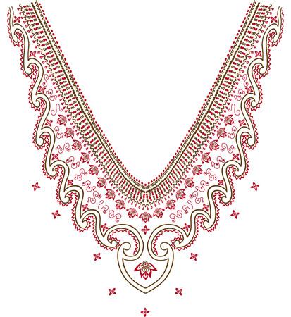 neckline: Neckline illustration vector design fashion