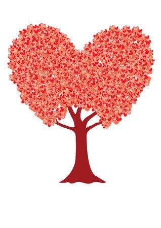 Love tree Illustration