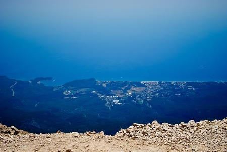 Mountains near town Kemer, Turkey