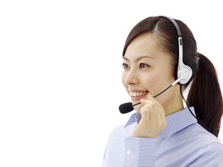 female customer service photo
