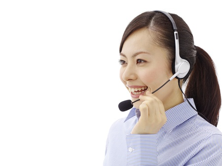 female customer service photo