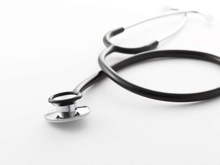 stetoskop: stetoskop on a white background Stock Photo