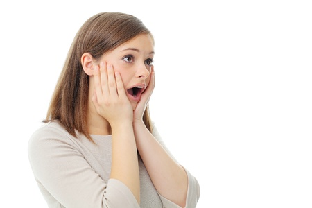 An unsuspecting woman is stunned  Frightened and helpless
