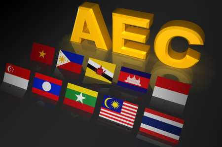 Asean Economic Community, AEC photo