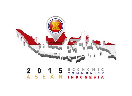 economic: 2015 Asean Economic Community indonesia