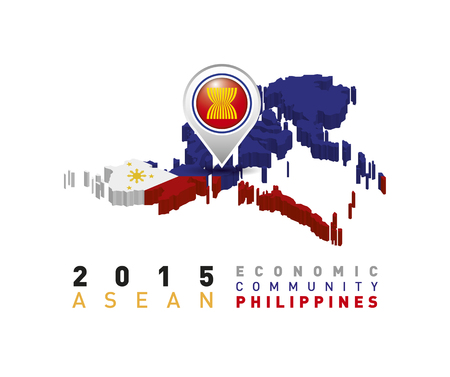 2015 Asean Economic Community Philippines Vector