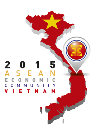 2015 Asean Economic Community Vietnam Vector