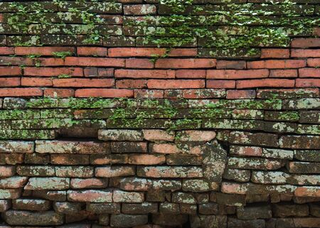 brick: Background of old vintage brick wall