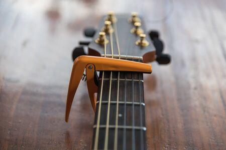 capo: Guitar capo