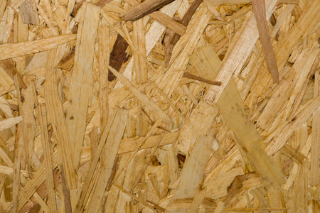 hardboard: Particle Board wooden panel background made of wood chips Stock Photo