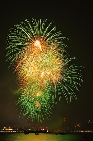 Fireworks Festival at Pattaya, Thailand