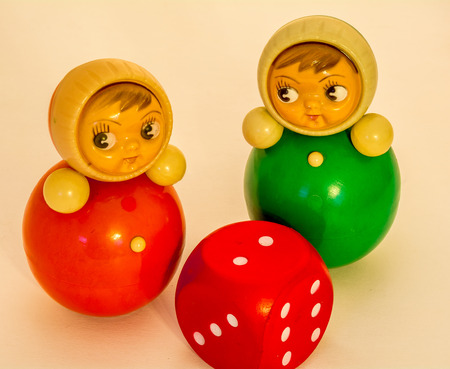 tots: Colorful toys for toddlers Roly-Poly never falls down