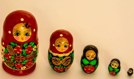 Wooden hand made toy colorful and interesting Imagens