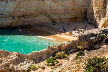 are hidden: Hidden private beach where anuone is welcome