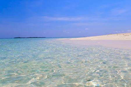 sandbank: Escape the Dreamscape On Maldives Stock Photo