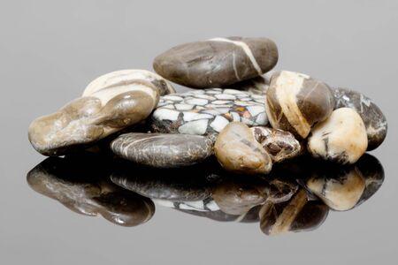 Stones nicely displayed Banco de Imagens
