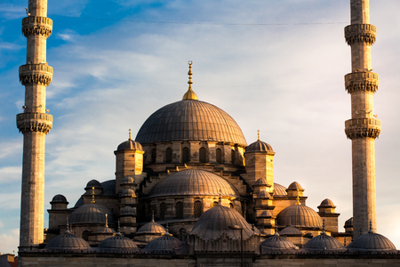 Mosque in Istanbul Turkey Stock Photo