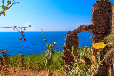 The Old Castle Of Antalya