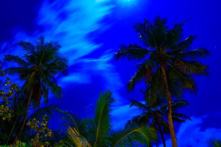 dreamscape Escape On Maldives Stock Photo