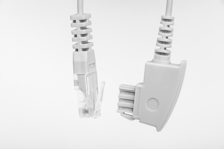Cable with TAE-F to TAE-F connection