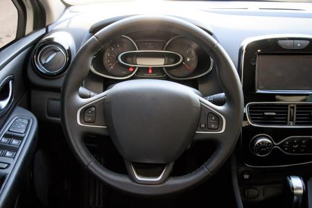 Car interior Banque d'images