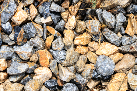 Rock pebbles background