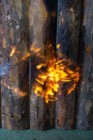 Timber factory Imagens