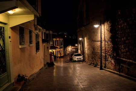 Streets of old town Kaleici Antalya Turkey