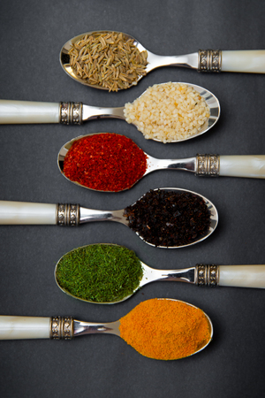 Healthy spices and herbs